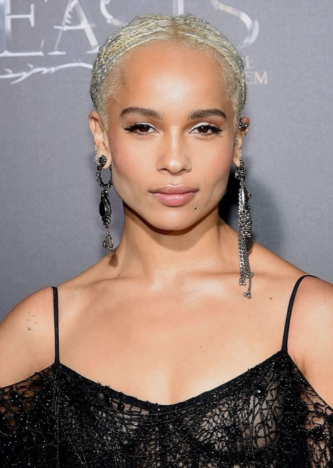 Dramatic Celebrity Hair Makeovers | After: Zoë Kravitz