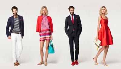Carolina Herrara's fashions