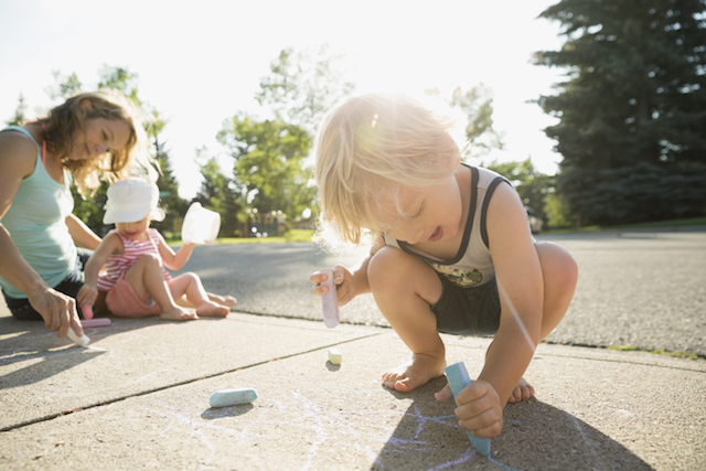 outdoor fun with your kids