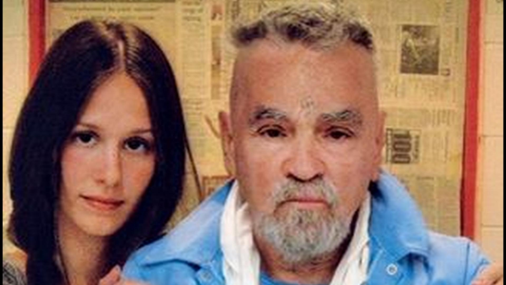 Charles Manson and fiancee