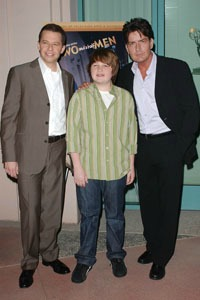Charlie Sheen Two and a Half Men cast