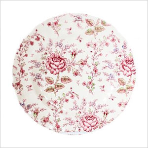 Rose Chintz plate
