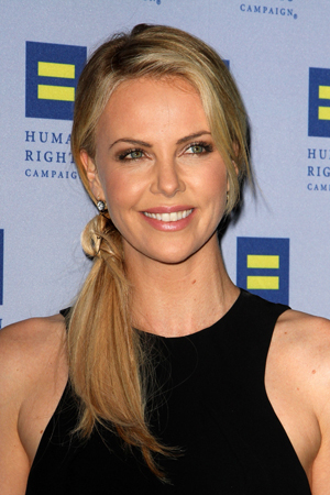 Charlize Theron has Jackson fever!