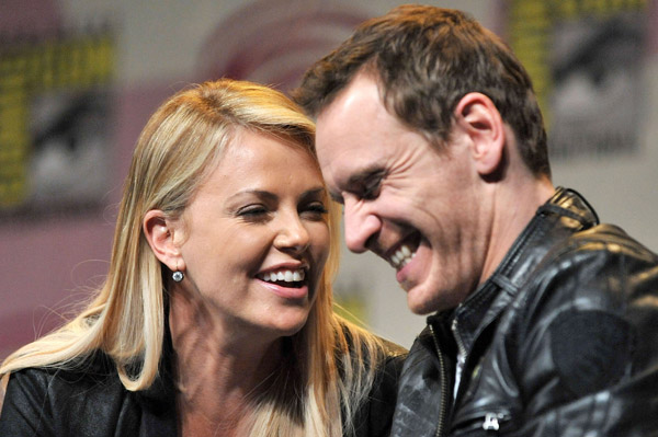Charlize Theron loves Michael Fassbender's penis