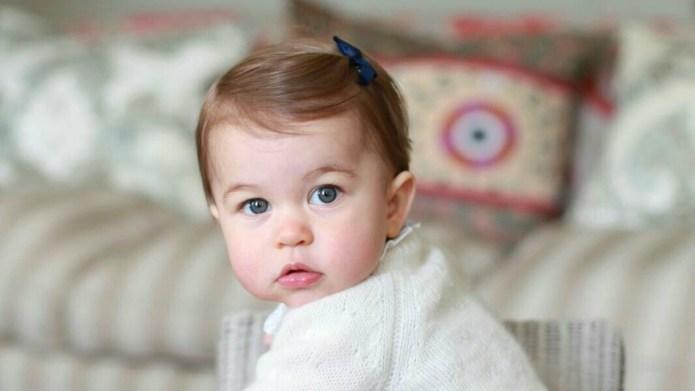 Princess Charlotte turns 1, celebrates with