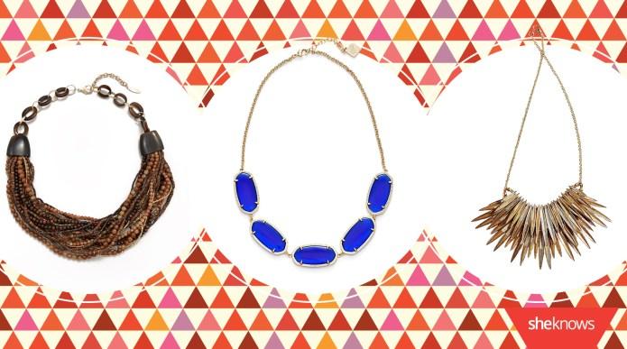 13 Summer statement necklaces to make