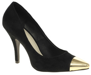 ASOS Sidney Point Court Shoes with Metal Toe Cap $82