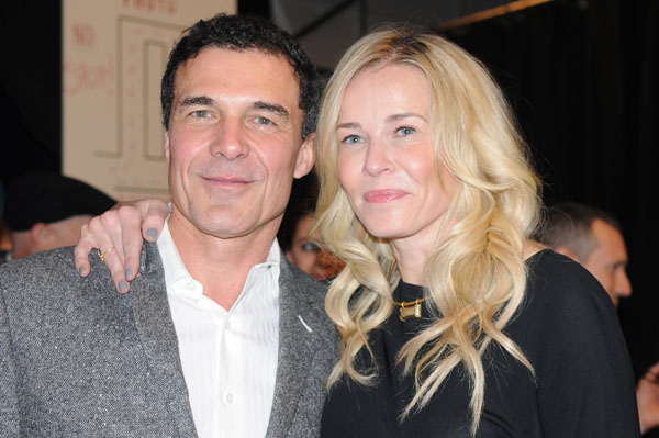 André Balazs and Chelsea Handler