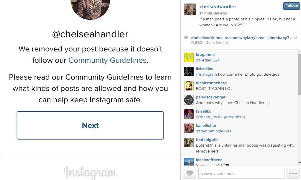 chelsea handler instagram