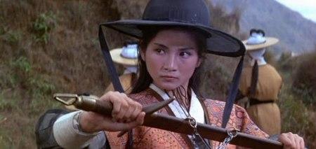 Cheng Pei-pei as Golden Swallow