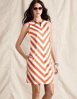 82edef78a030 ... summer favorites from Tommy Hilfiger. chevron dress