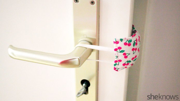 Make a cute door silencer in