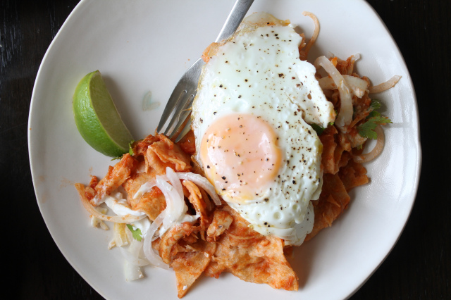 Chilaquiles: Mexico