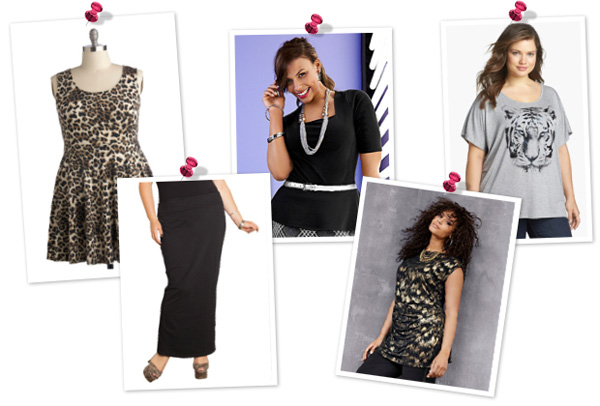 A fun and flirty look for plus size women