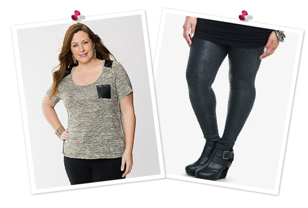 A Sexy and chic look for plus size women