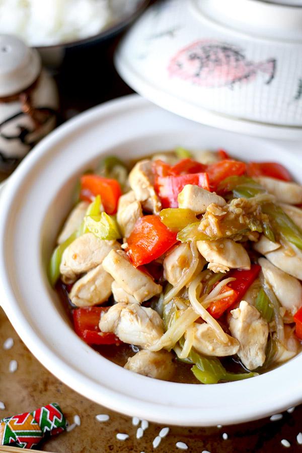 Classic chicken chop suey