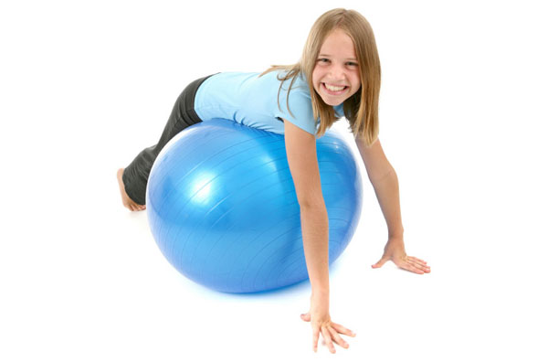 Child - exercise ball