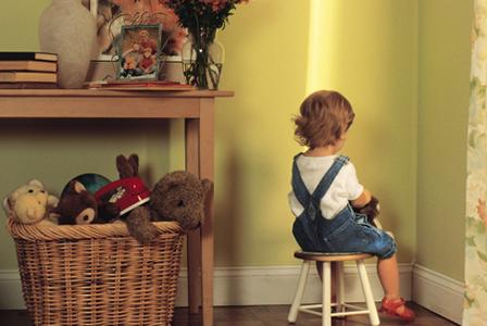 Child sitting in corner | Sheknows.com