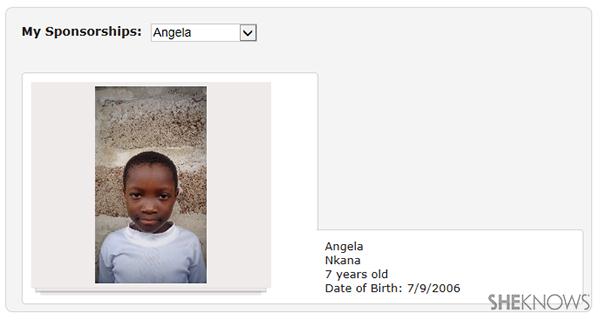 Angela Save the Children | Sheknows.com