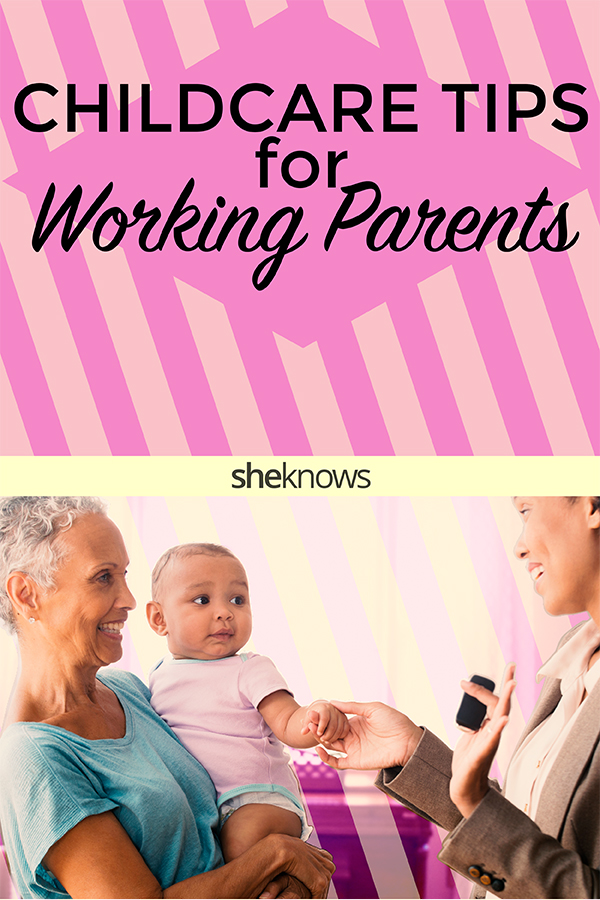 childcare tips for working parents