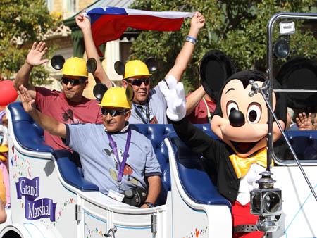 Chilean miners Disney