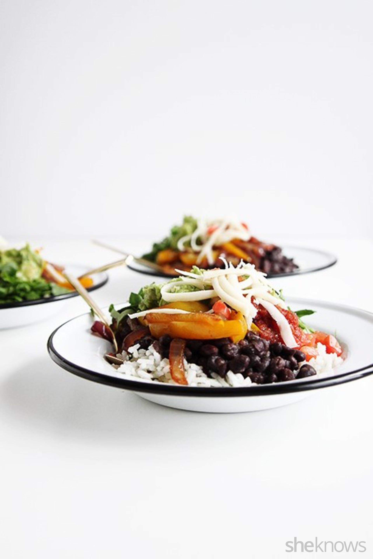 Vegetarian Chipotle Bowls