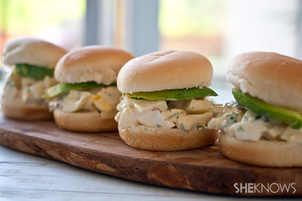 Chipotle Egg Salad Sliders