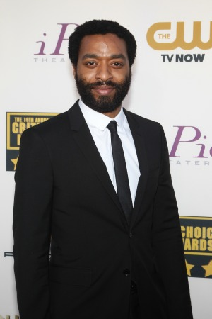 Chiwetel Ejiofor's sister is overcome with emotion over his Oscar nomination