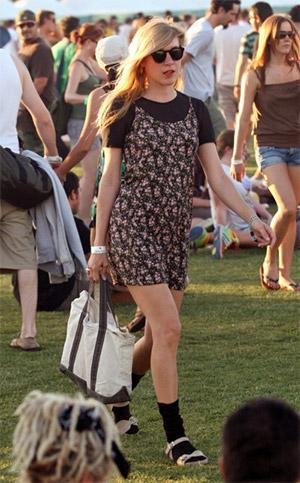 Chloe Sevigny at Coachella