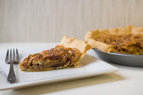 Chocolate chip bourbon pecan pie