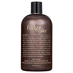 Classic fudge cake 3-in-1