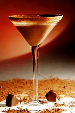 Milky Way martini