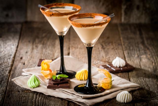 Chocolate orange martini