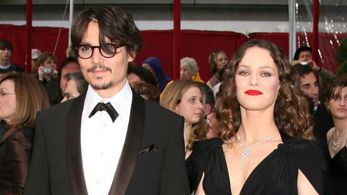 Johnny Depp & Vanessa Paradis are