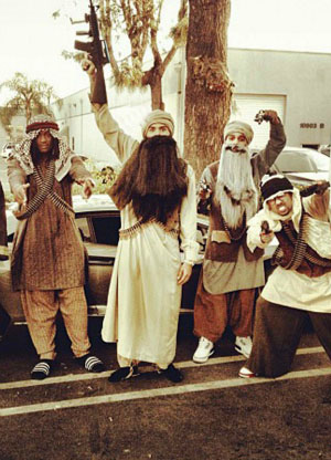 Chris Brown and Friends Halloween 2012 Costumes