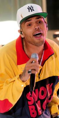 Chris Brown Performing Live at Rockefeller Center