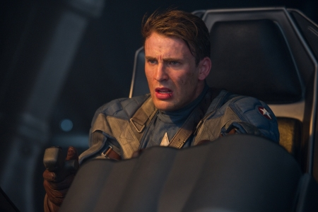 Chris Evans springs into action