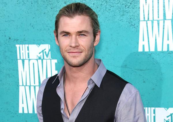 Chris Hemsworth at the MTV Movie Awards