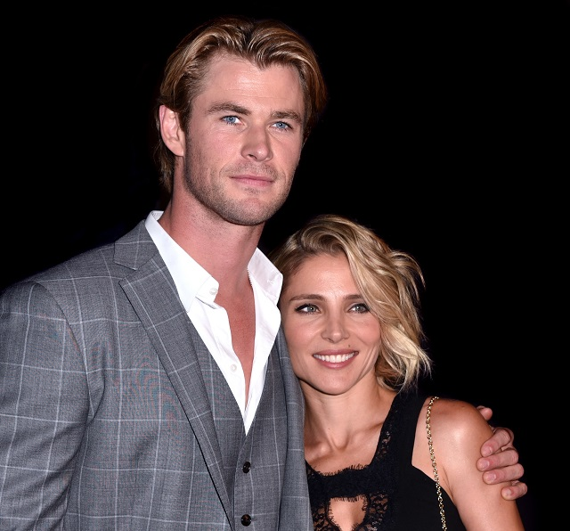 Chris Hemsworth and wife Elsa