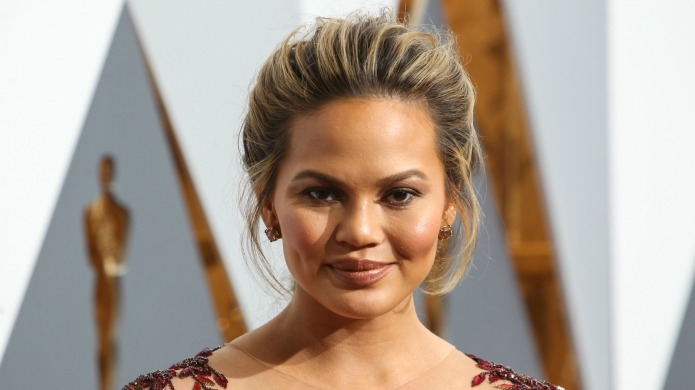 Chrissy Teigen just got seriously real