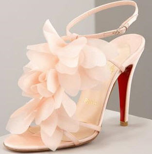 Christian Louboutin Petal high heel sandal for summer fashion