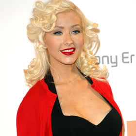 Christina Aguilera and Marilyn Monroe-inspired beauty