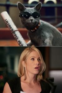 Christina Applegate gets Kitty
