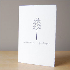 Winter Tree Christmas card | Sheknows.ca
