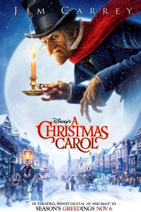 Jim Carrey in A Christmas Carol