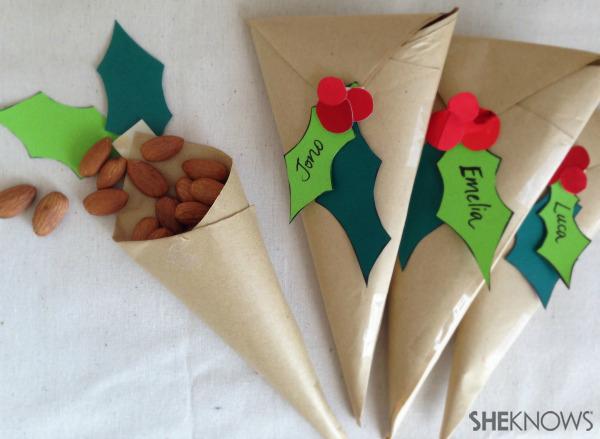 3 Fresh Christmas gift wrapping trends | Sheknows.com.au -- christmas cone