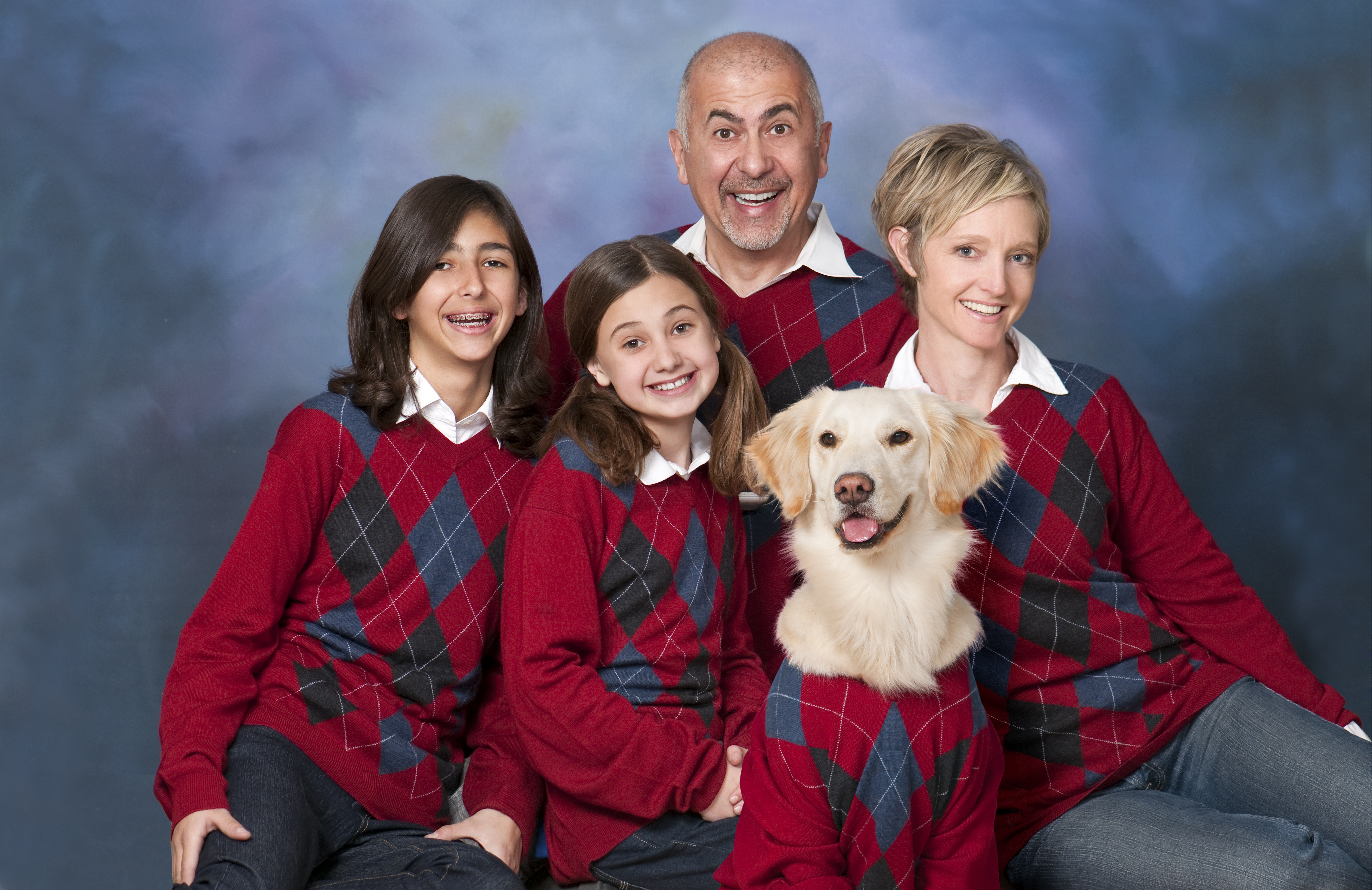 Christmas Family Portraits.What Your Family Christmas Picture Style Says About You