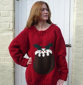pudding sweater