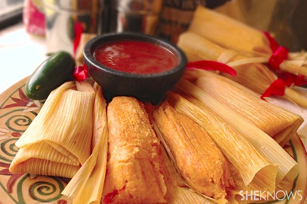 Mexican Christmas Food.Christmas Tamales Recipe Sheknows