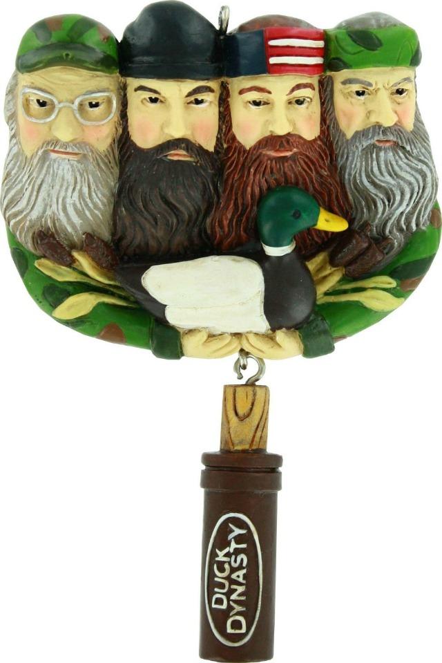 duck dynasty ornament